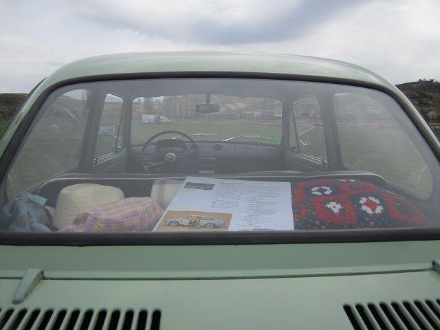 maletero coche clasico